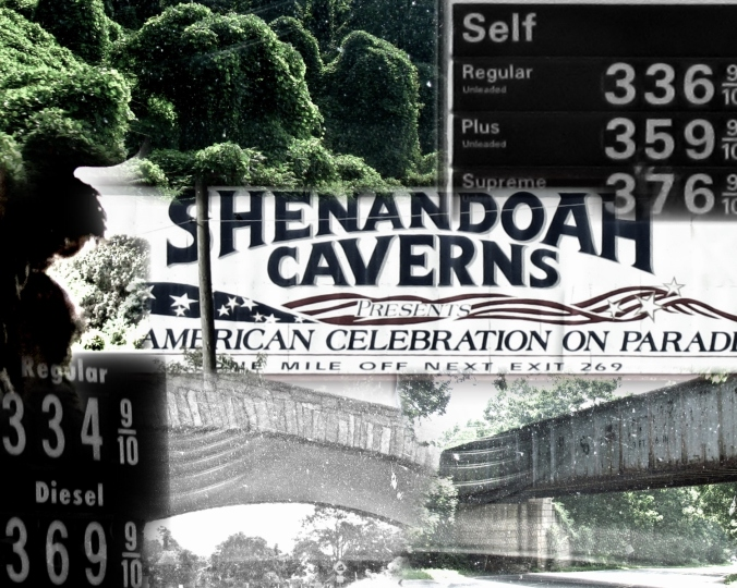 The Kudzu Climbs The Gas Prices Fall And the Caverns are Cavernous!