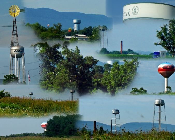 Water, water, everywhere...and not a drop to drink! Oh...and a windmill.