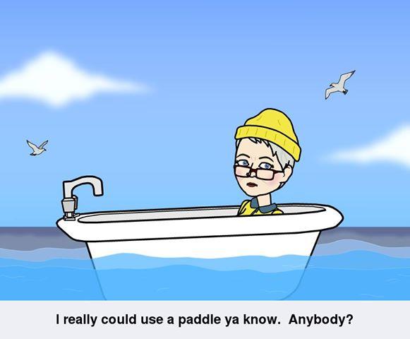 need a paddle