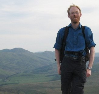 Fergus Facebook profile photograph hillwalking