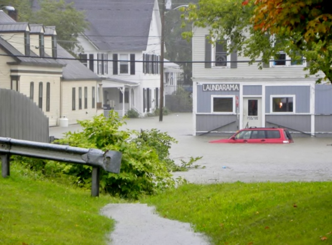 But ENOUGH already! My hometown of Northfield, VT in 2011, courtesy of Irene's rain :(