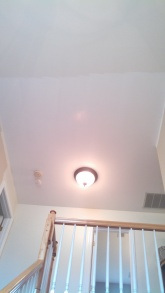 my 2-story foyer ceiling